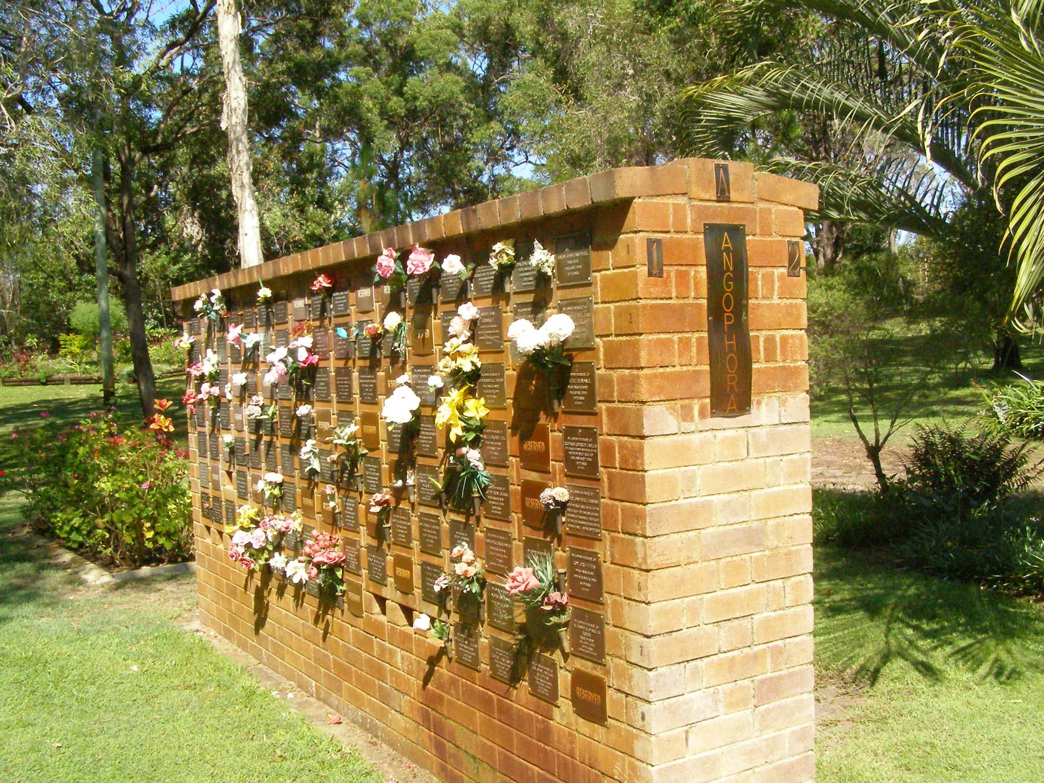 Bribie Island Memorial Gardens Memorial Inscriptions