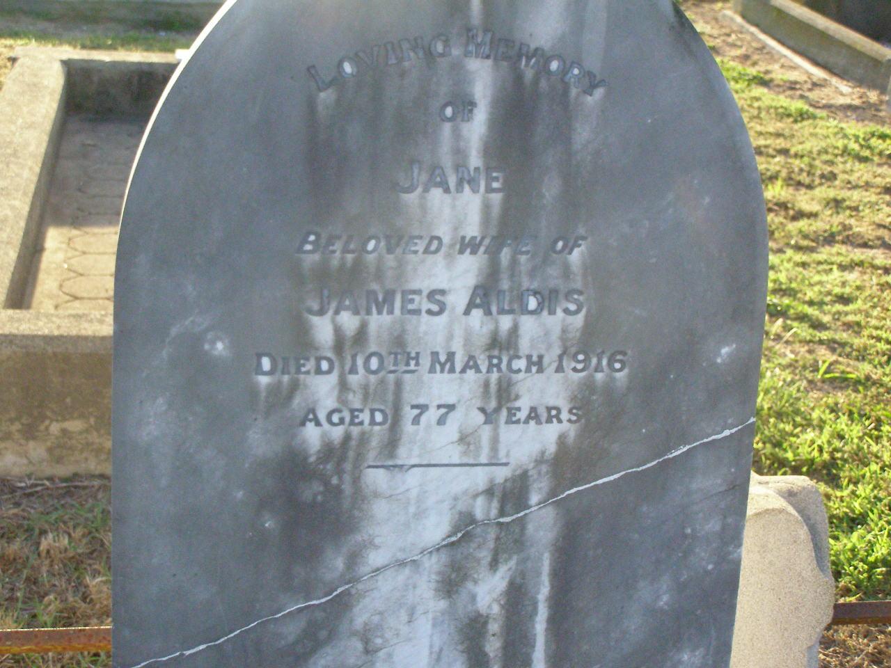 Killarney Warwick Memorial Inscriptions