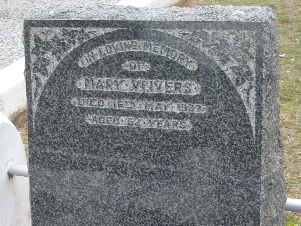 Parkhouse Cemetery Beaudesert Memorial Inscriptions