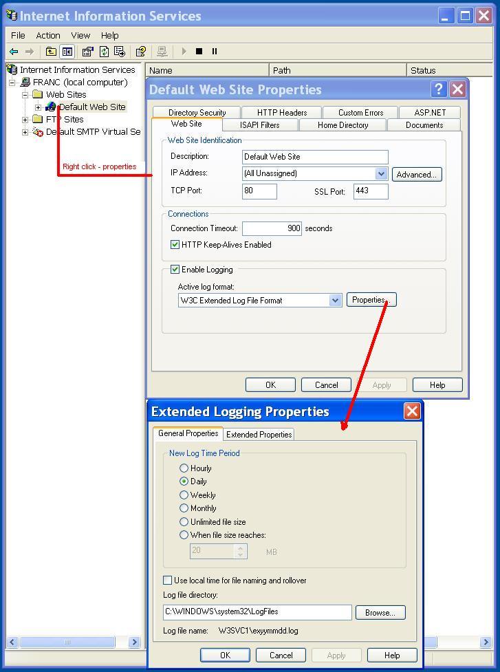 Iisview Generate Web Site Traffic Statistics From Iis Logs